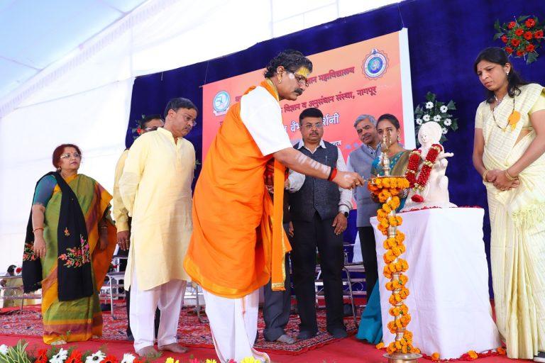 Inauguration at the hands of P.P Acharya Shri Jitendranath Maharaj